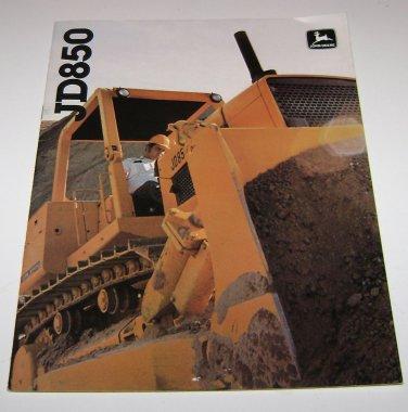 John Deere JD850 Equipment Sales Brochure