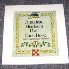 American Heirloom Pork Cook Book, from Checkerboard Kitchens by Gertrude Kable