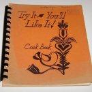 United Methodist Church Cookbook Ontonagon Michigan 1972  W.S.C.S