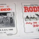Wahoo Rodeo Brochure Promo 1990 and 2001