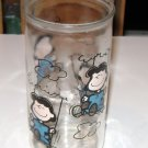 LUCY from Peanuts Vintage Jelly Jar