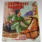 1959 MGM TV's Northwest Passage Story Book George Pollard art