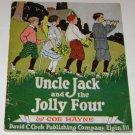 Vintage Book Uncle Jack & The Jolly Four Coe Hayne David C. Cook pub