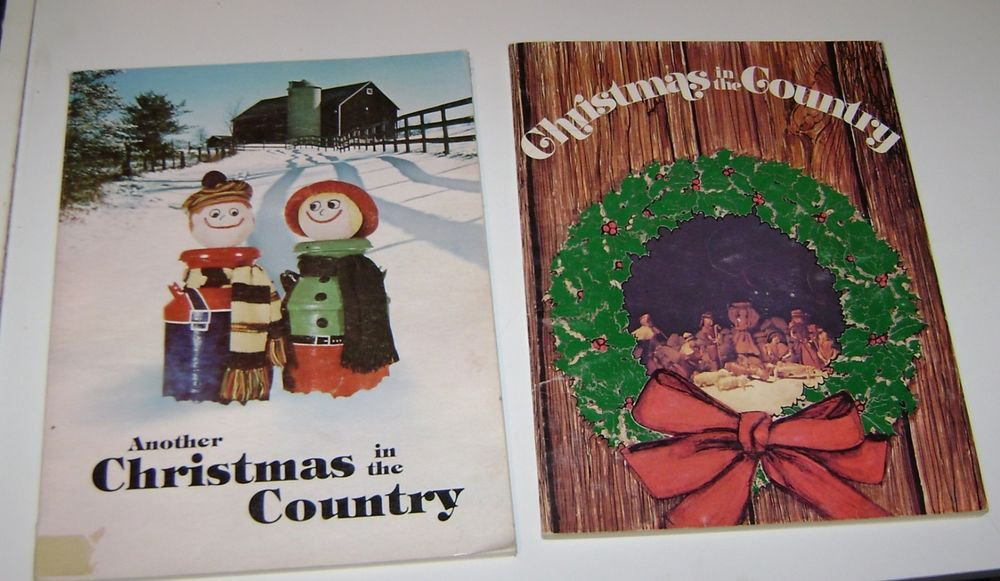 (2) Farm Wife News Christmas in the Country  1974 &1976