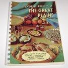 Womens Club Recipes of The Great Plains Cookbook Kansas Nebraska Dakota's