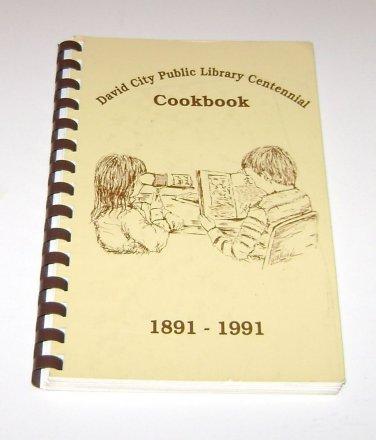David City Nebraska Public Library Centennial Cookbook 1891 - 1991