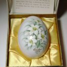 NORITAKE 1972 BONE CHINA EASTER DECORATIVE EGG