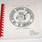 Nebraska Builders Chapter General Contractors of America Ladies Cookbook 1984