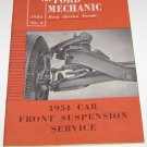 "Ford Mechanic No 3 Feb ""1954 Car Front Suspension Service"""