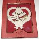 "Lenox American by Design 2011 Annual ""Wedding Day 2011"" Ormament"