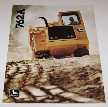 John Deere 762A Scraper Brochure