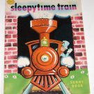 sleepytime train sunny book illustrated by vic havel 1968
