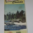 Vintage Sioux Lookout Hudson Ontario Canada Ojibway Country Travel Brochure