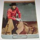 Wild Bill Elliot Cowboy Poster Print