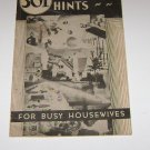 301 Household Hints by Cappers Publications 1935
