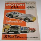 JUNE 1955 MOTOR LIFE auto magazine STUDEBAKERS SPEEDSTERS - INDY- FORD-DESOTO