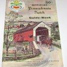 Official Pennsylvania Dutch Travel Guide Book Lancaster County 1972