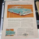 Ad for 1954 Chevrolet Bel-Air 4 dr from Cappers Magazine