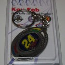 Nascar Jeff Gordon NO 24 Key Chain 3 Time Winston Cup 1995 - 97 - 98