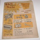Vintage 26 Anniversary Sale Catalog Tractor Supply Co Fall Harvest 1964