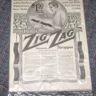 Vintage Advertisement Zig Zag Stropper Saturday Evening Post
