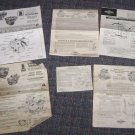 (5) Briggs & Stratton Tecumseh Owners Manuals
