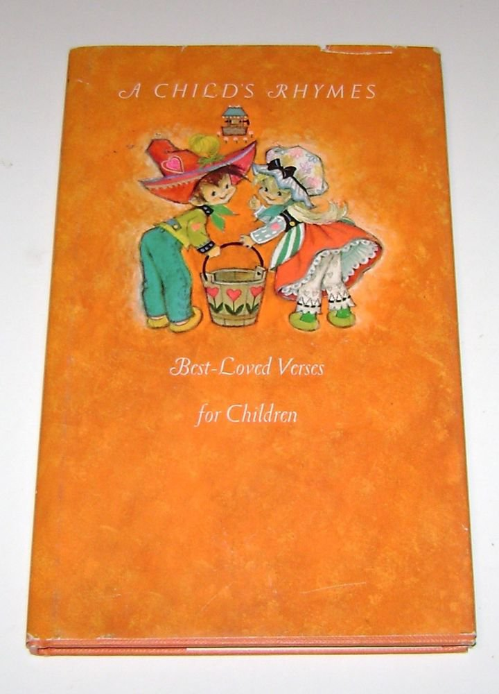 A child's rhymes; best-loved verses for children. by Stanley Hendricks 1968