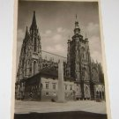 Vintage Postcard Prague Czech Church of St. vita