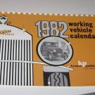 1982 Old Cars Weekly Working Vehicles Calendar
