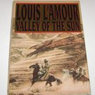 Louis L'Amour, Valley of the Sun, Western Fiction HC 1995