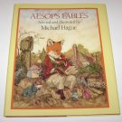 Aesop's Fables by Aesop (1985, Hardcover) Michael Hague