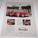 Bel Air Beauville Station Wagon 1955 Magazine Advertisement