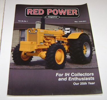 RED POWER IH & Farmall Enthusiasts Magazine may june 2011