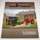 RED POWER IH & Farmall Enthusiasts Magazine july august 2008
