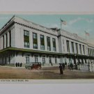 Vintage Postcard Union Station Baltimore Maryland