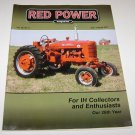 RED POWER IH & Farmall Enthusiasts Magazine july august 2011