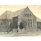 Vintage Postcard Public Library Nebraska City Nebraska 1913