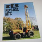 ZTS ND 9-031MTC Zetor Forklift Spec Sheet