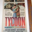 "John Wayne Laraine Day ""TYCOON"" Look Magazine Movie AD 1947"