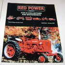 RED POWER IH & Farmall Enthusiasts Magazine september october 2000