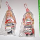 (2) Swedish Sweden Dolls Sealed