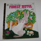 LITTLE GOLDEN BOOK FOREST HOTEL A COUNTING STORY 1972