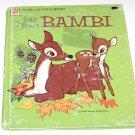 Whitman Tell A Tale  Walt Disney's Bambi   (1972)