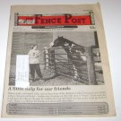 The Fence Post Nebraska Edition Lindsay Dickerson Bushnell Cover 1997