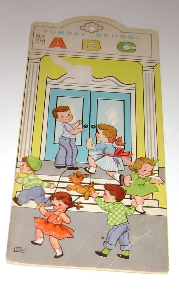 James & Jonathon Funday School Childrens Book 1964