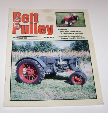 The Belt Pulley Magazine July August 1999