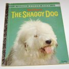 The Shaggy Dog Little Golden Book 1959 Walt Disney's