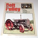 The Belt Pulley Farm Magazine Nov Dec 1998