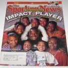 Sporting News Magazine Impact Players Derrick Brooks Cover july 31 2000