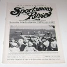 Sportsmen's Review Trapshooting Magazine september 6 1952